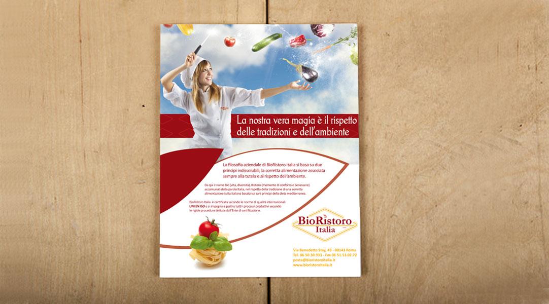 Realizzazione-pagina-pubblicitaria-Bio-Ristoro