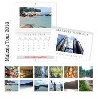 calendari da muro Malesia
