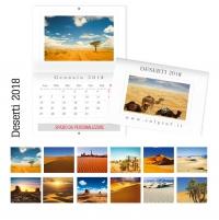 calendari da muro deserti
