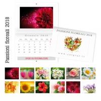 calendari da muro fiori